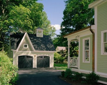 Victorian Carriage House looks way better than the traditional detached garage