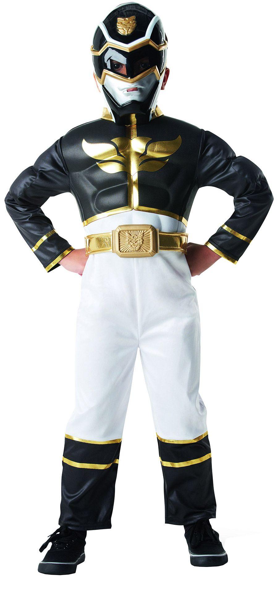 Disfraz de Power Rangers™ 3D negro niño  Este disfraz de Power Rangers™ para d1b9df7fa91
