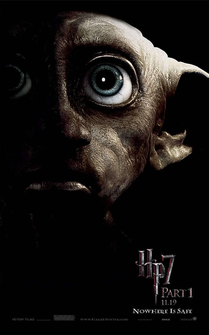 Harry Potter Dobby Movie Poster - Canvas Printing (High Quality - Available in many sizes) - Gifts