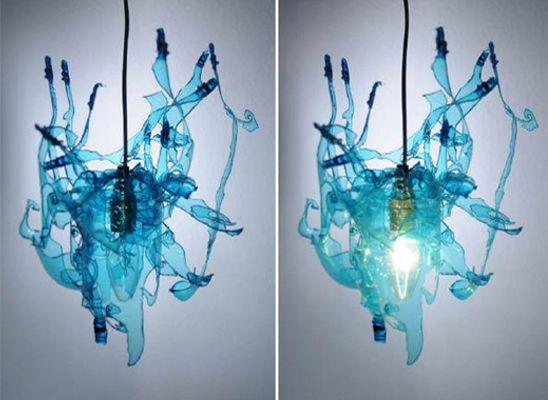 reciclaje creativo johanna keimeyer recicla envases de plstico para realizar lmparas
