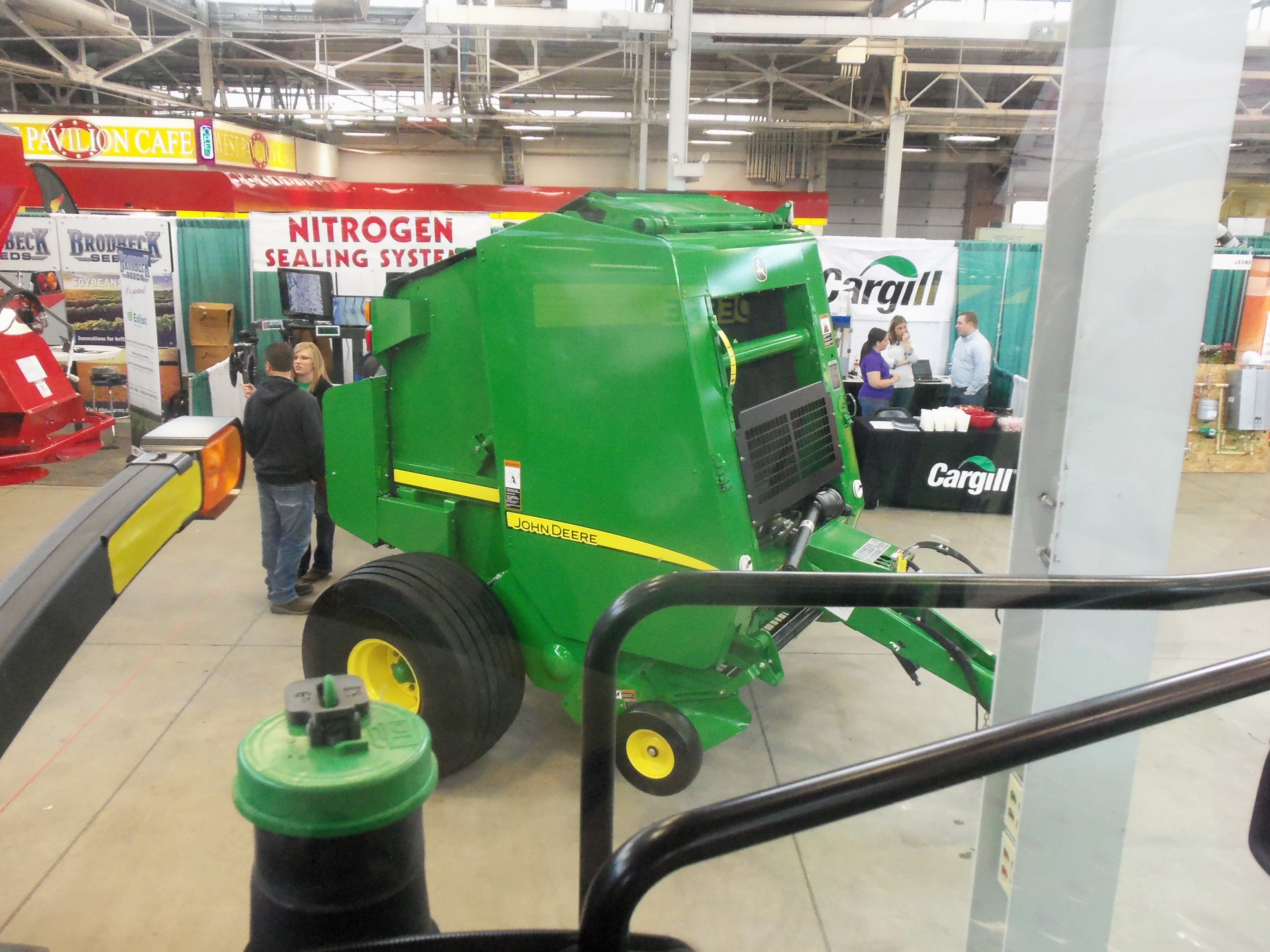 John Deere 459 silage special round baler from 8345RT | John