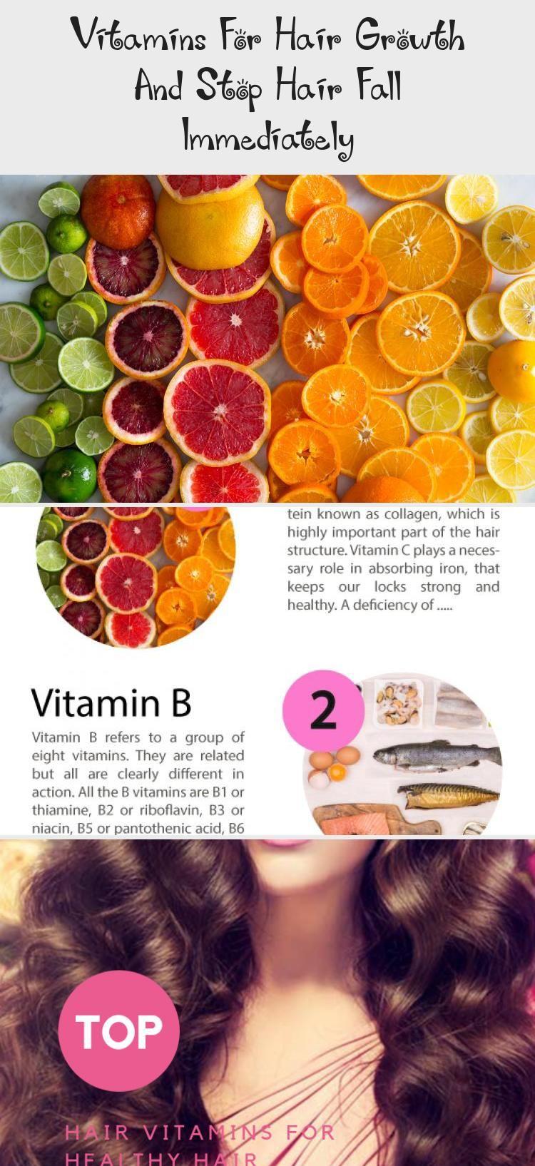 Vitaminsforhairgrowthandstophairfallimmediately