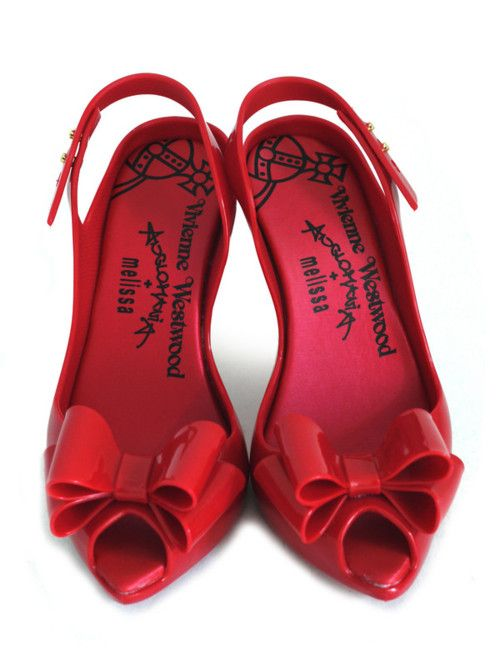 Pin By Dinha Mclean On S K O E N E Melissa Shoes Red Shoes Heels