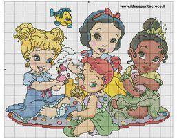 BABY DISNEY PRINCESS by syra1974