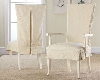 1000 Images About Redo Cloth On Chairs Pinterest  Chair Slipcovers Parson Chair Covers And Office