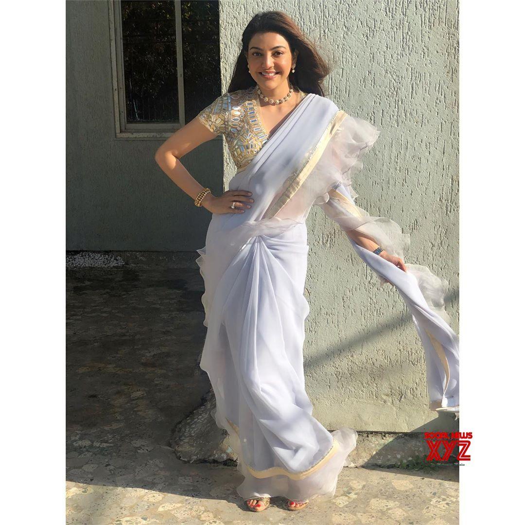 Actress Kajal Aggarwal Latest Elegant Stills Actress Kajalaggarwal