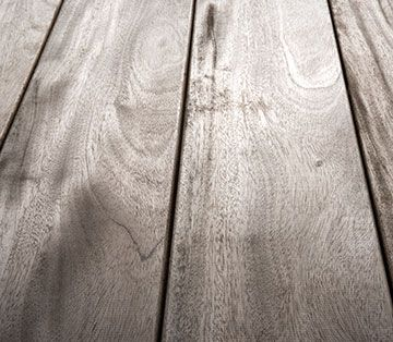 Left Untreated Mahogany Will Turn A Silvery Grey Colour Mahogany Decking Decking Suppliers Hardwood Decking