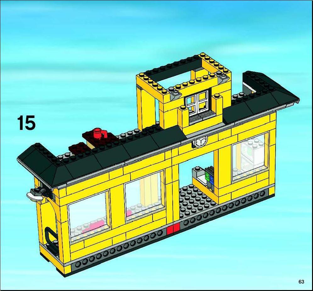 City Train Station Lego 7997 In 2020 Train Station Lego City Sets Train