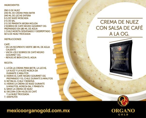 Agua de cafe para adelgazar organo gold