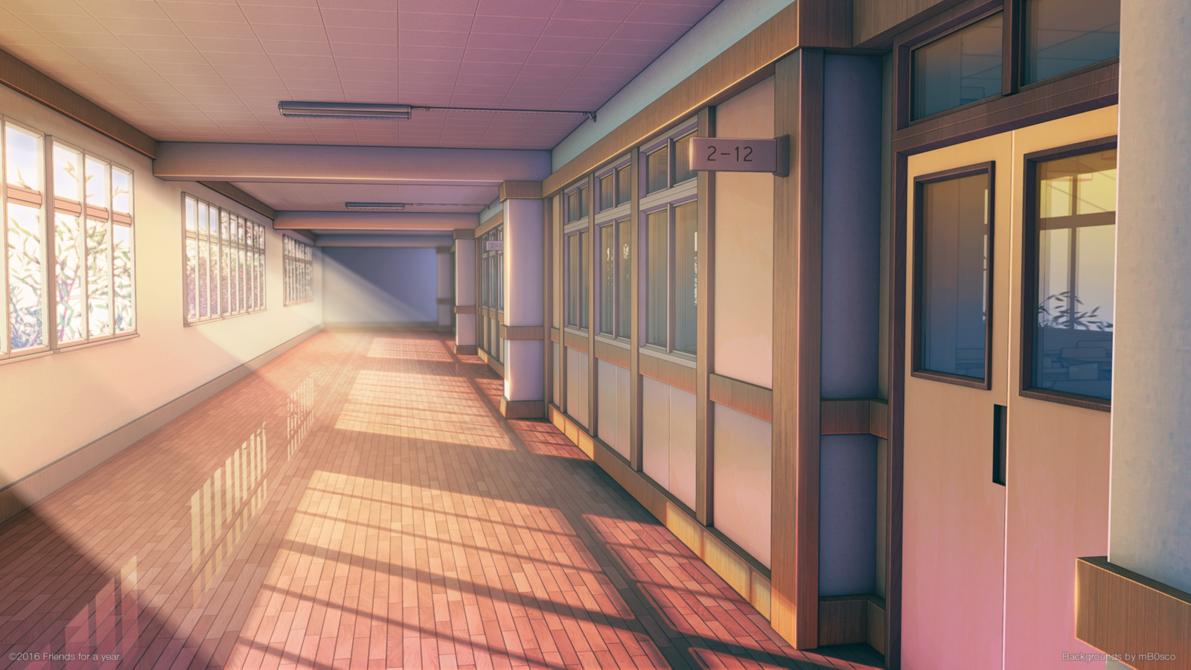 School Corridor by mB0sco on DeviantArt