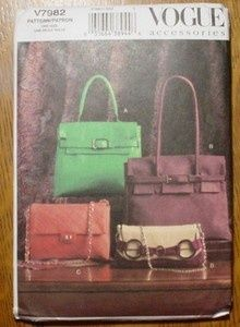 4dcaa2f6303 vogue 7982 - Google Search Birkin Bag pattern-Am looking for this one!