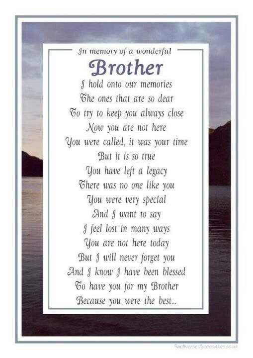 Missing My Brother In Heaven Quotes. QuotesGram by ...