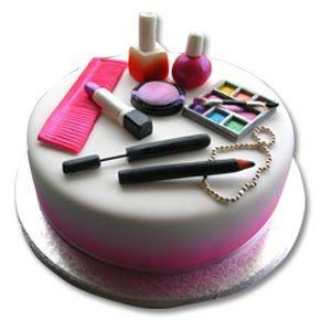 Toda Linda MAKE UP: makeup cakes! ;-)