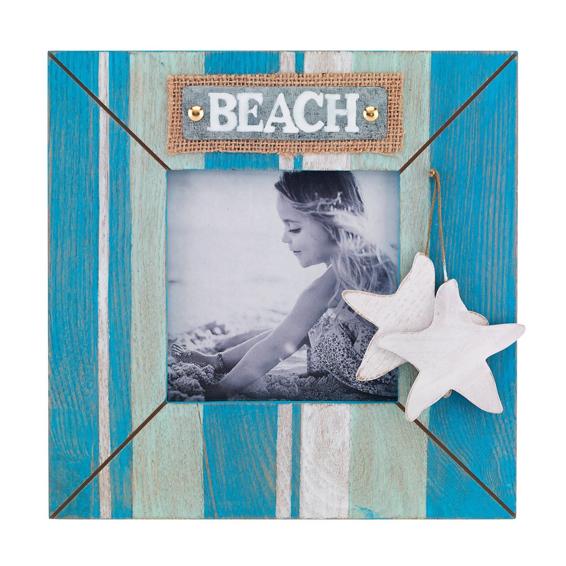 Lawrence Frames Blue Wave Beach Picture Frame - 340755
