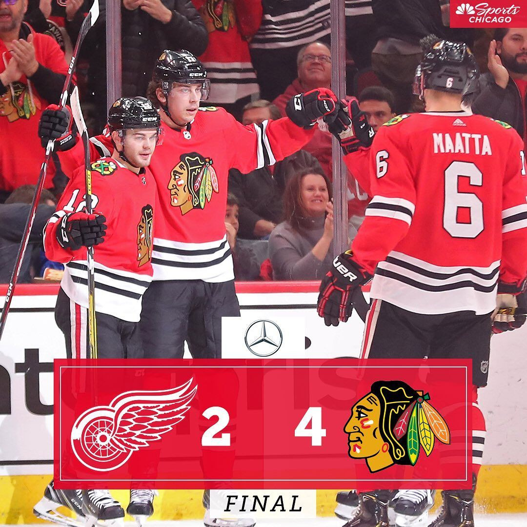 """NBC Sports Chicago on Instagram """"4 unanswered goals gives"""
