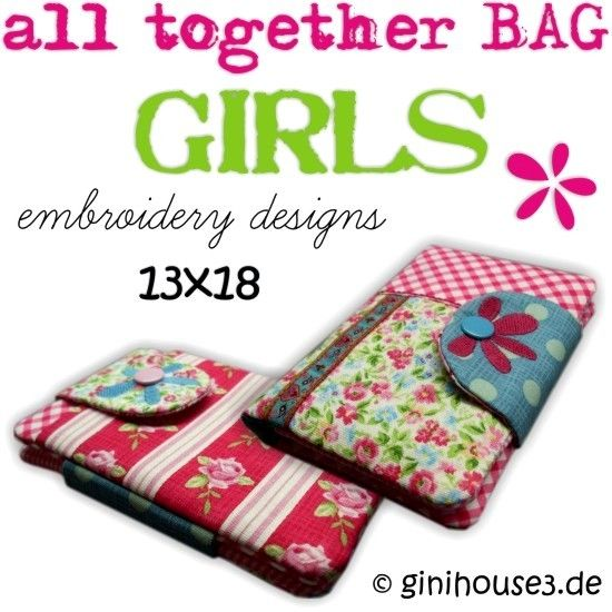 all together BAG ✿ GIRLS ✿ 13x18