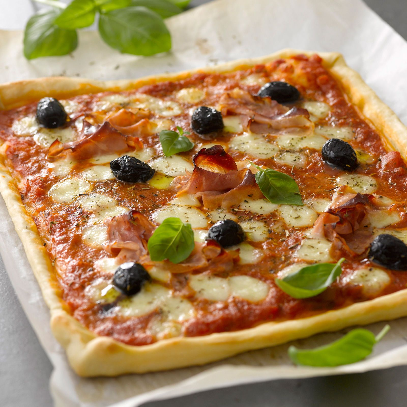 Pizzas, Quiches And Menu