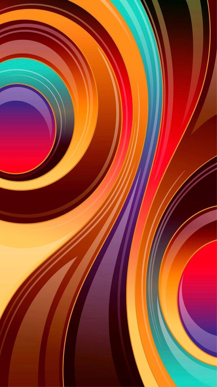 Pin by Lois on Colors Embraced! in 2019 Abstract iphone