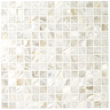 White - Mother of Pearl Mosaics - Wall & Floor Tiles ...
