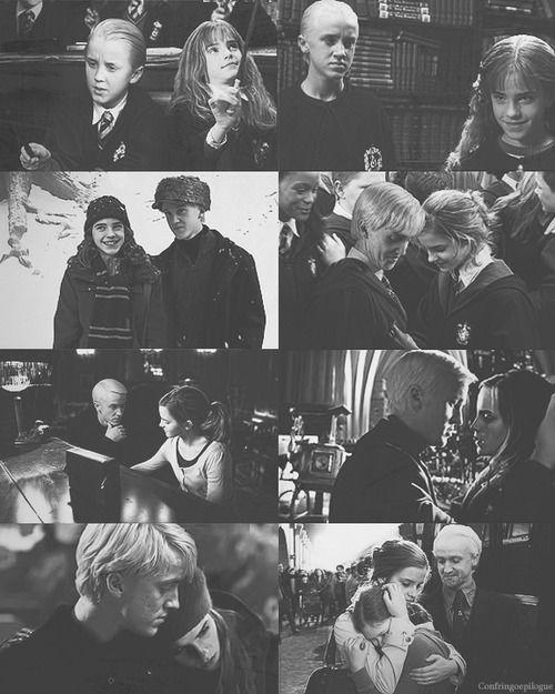 2 Draco Malfoy Tumblr Dramione Harry Potter Hermione Harry Potter Draco Malfoy