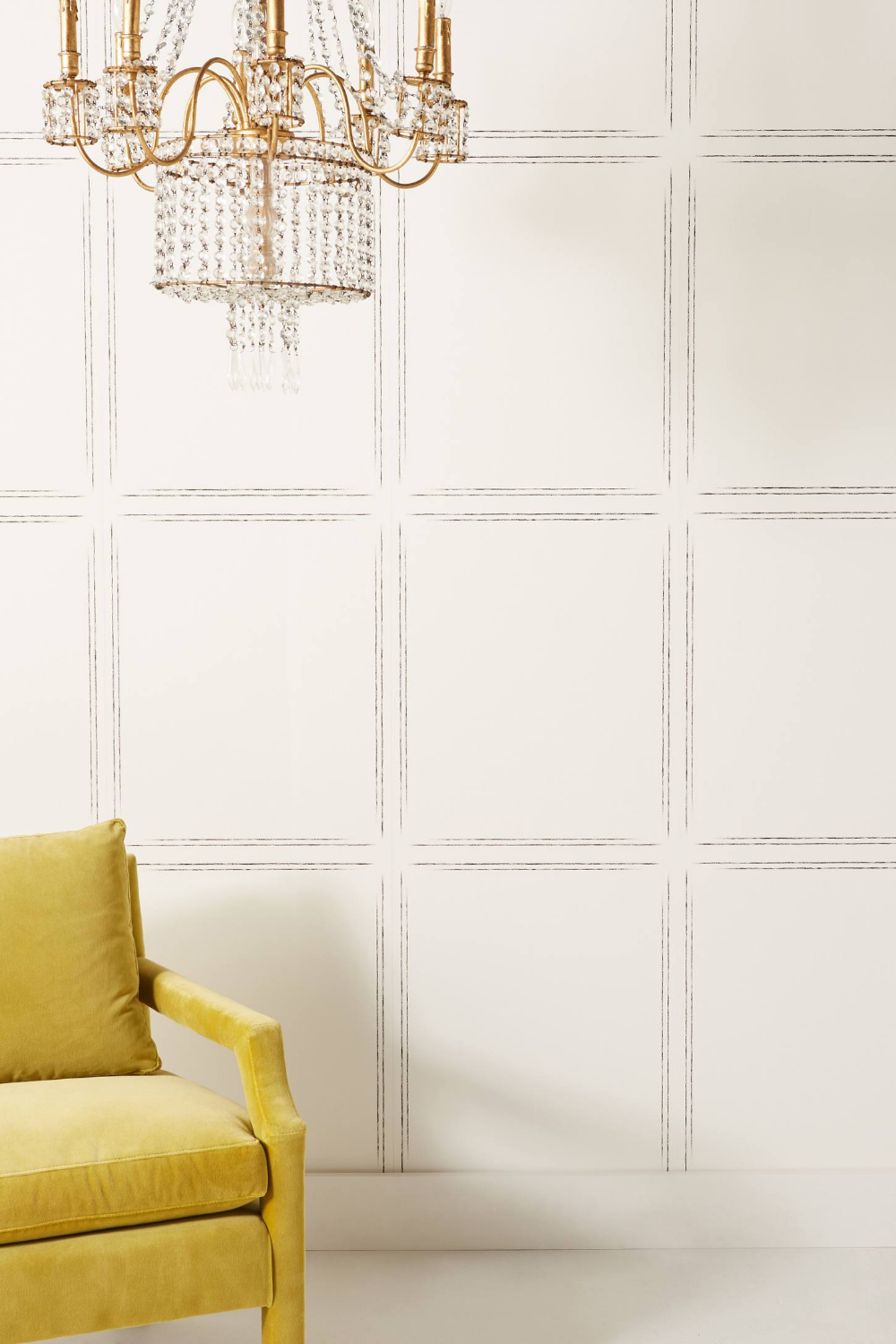 Magnolia Home Hopscotch Wallpaper by in Black, Wall Decor