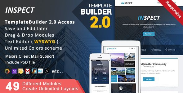 email newsletter builder online and offline best themes of the