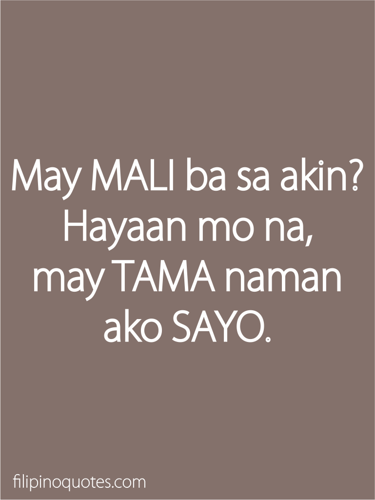 Tagalog Quotes Love Quotes Tagalog For Her Funny Apifqetlw  In Love Quotes