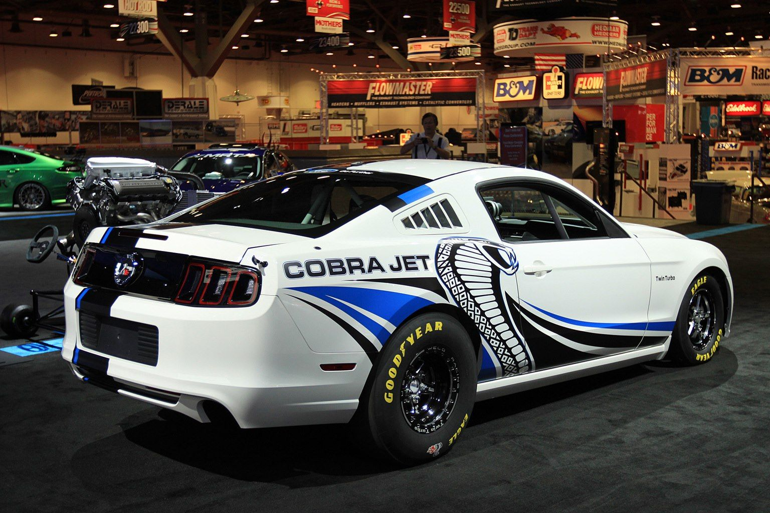 Ford mustang shelby gt500 cobra jet