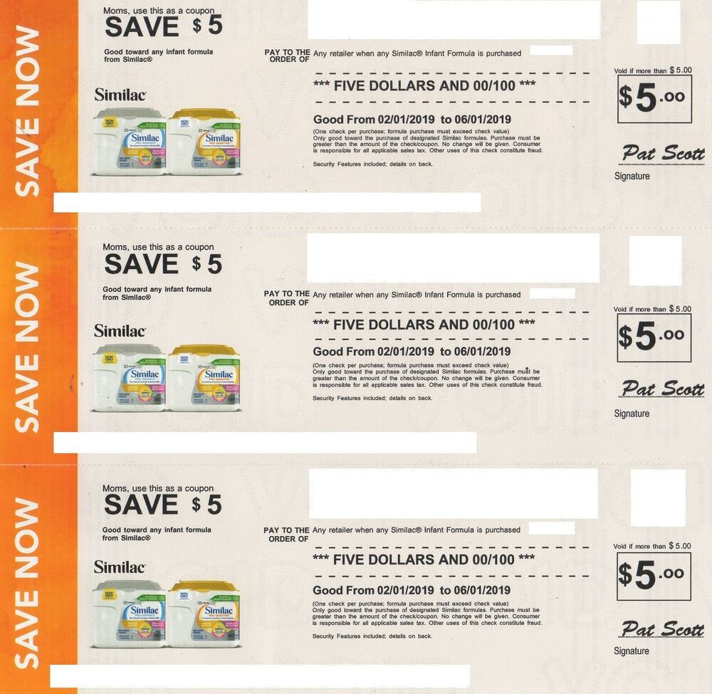 graphic relating to Printable Similac Coupons named SIMILAC COUPON $15.00 Volume EXPIRES 6-1-2019 OFF ANY Baby