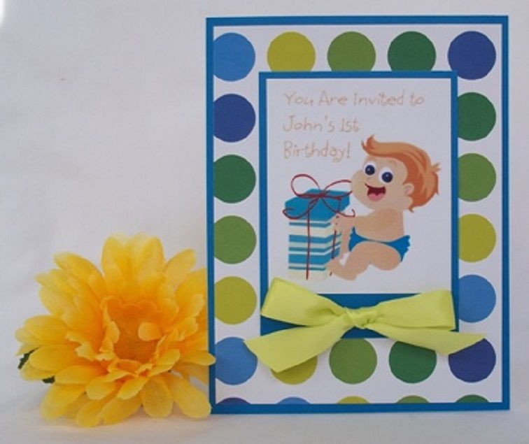 Handmade Birthday Invitation Cards For Kids
