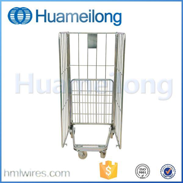 Wheeled Laundry Folding Rolling Mesh Carts With Wheels Alibaba