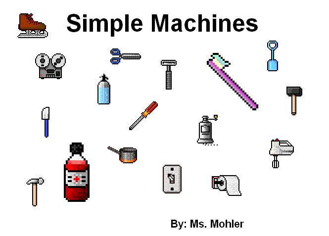3rd Grade | Simple Machines Worksheet | Simple Machines-Science ...