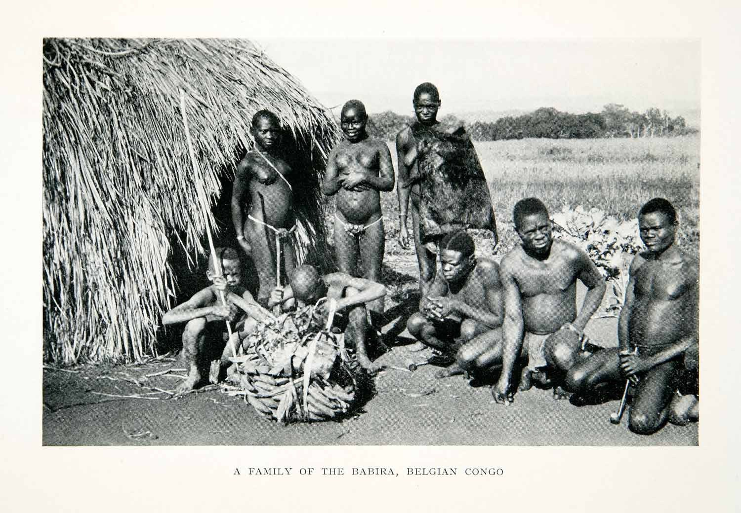 african tribal naked family