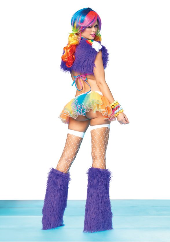 rainbow raver complete set  rave outfits rave wear rave