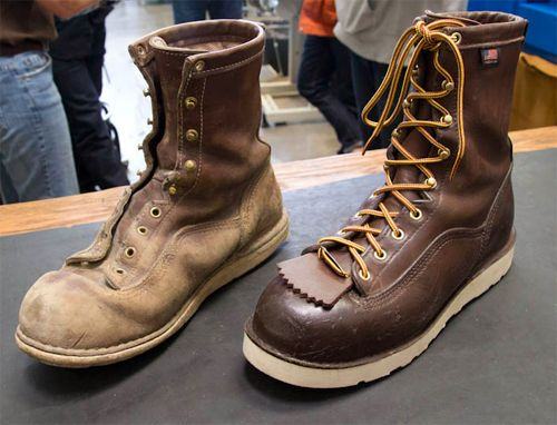Factory Tour Leather Boots Made In Usa At Danner