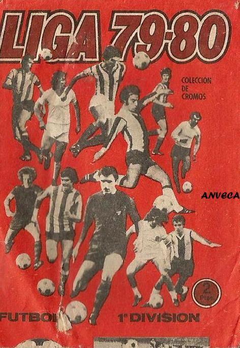 ALBUM CROMOS LIGA - 1979-80