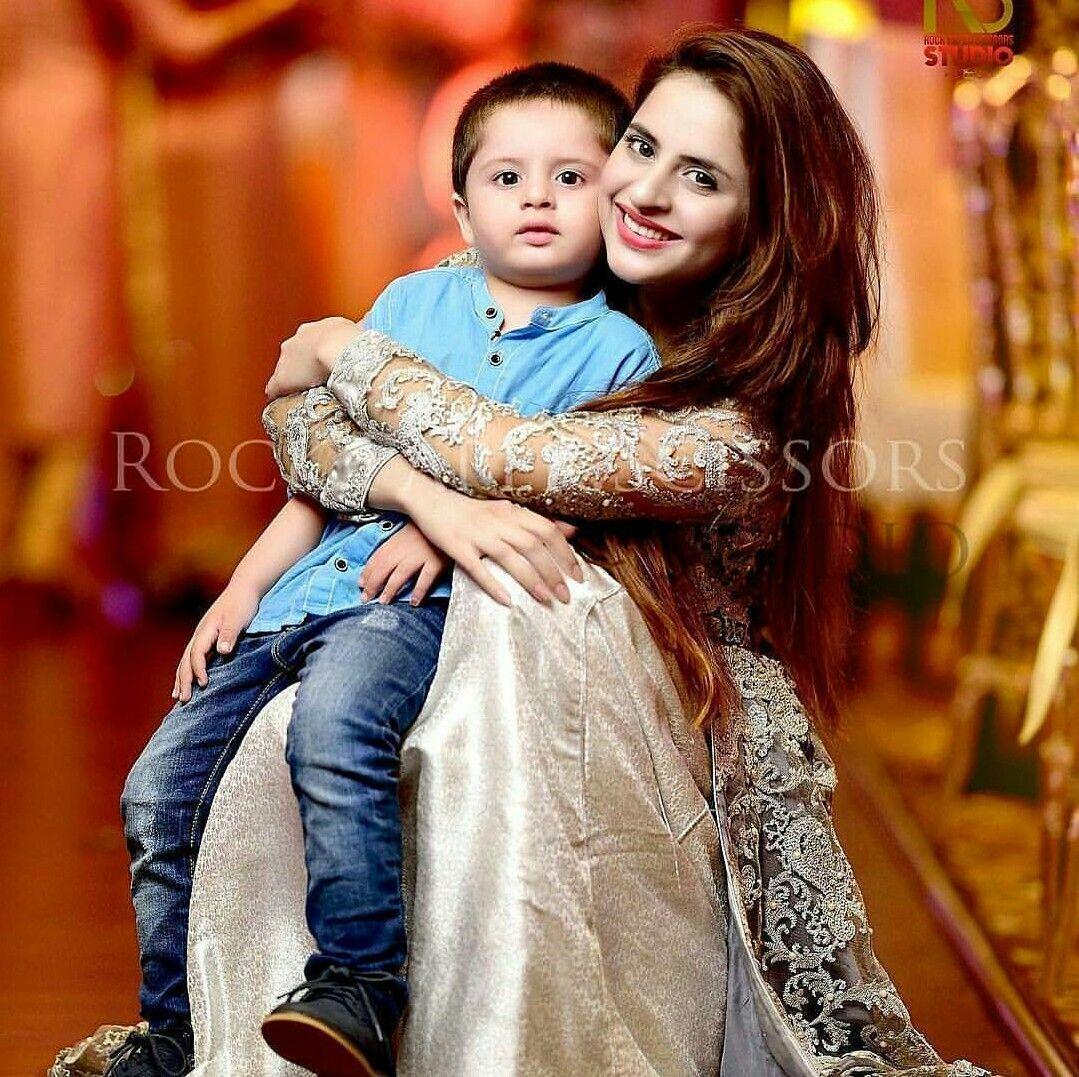 fatima effendi with her son mashaallah