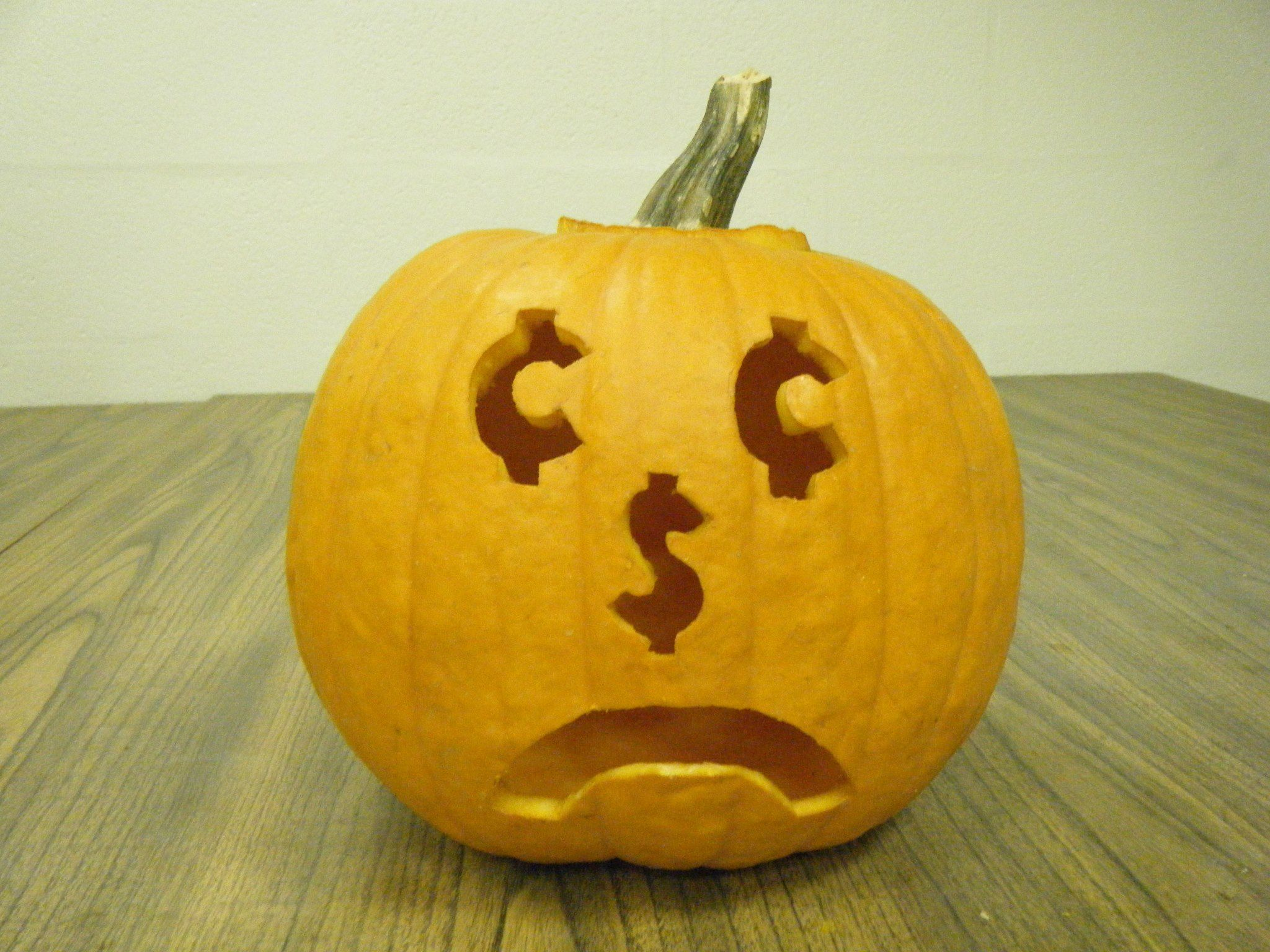 53 best econ themed halloween pumpkins images on pinterest