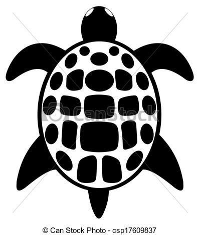 Vecteur simple tatouage tortue banque d 39 illustrations illustrations libres de droits - Dessin d une tortue ...
