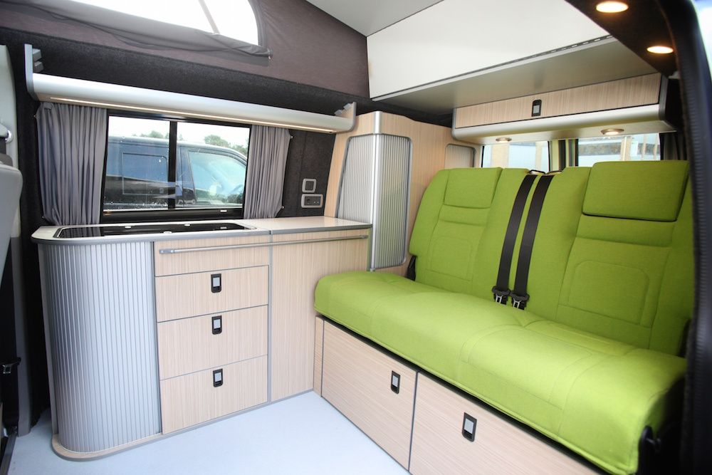 Vw t5 campervan interior google search v w campervans for Vw t4 interior designs