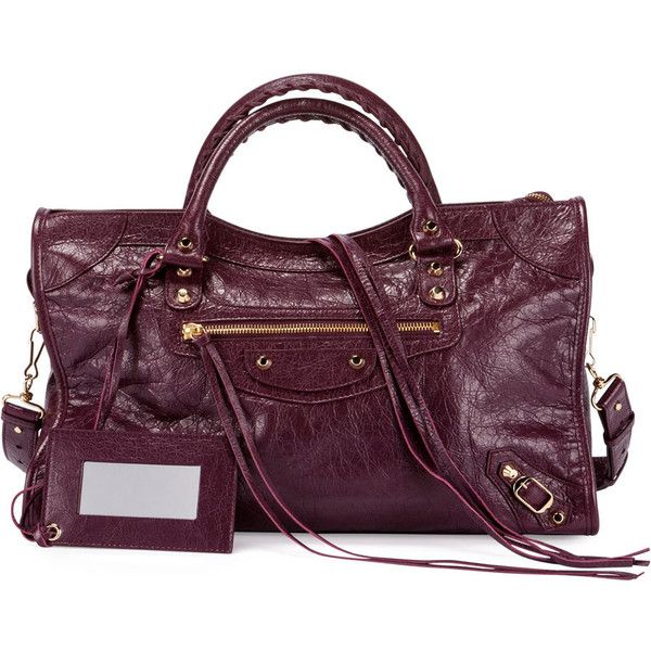 dd9a176c6943 Balenciaga Classic Golden City Lambskin Tote Bag ( 1