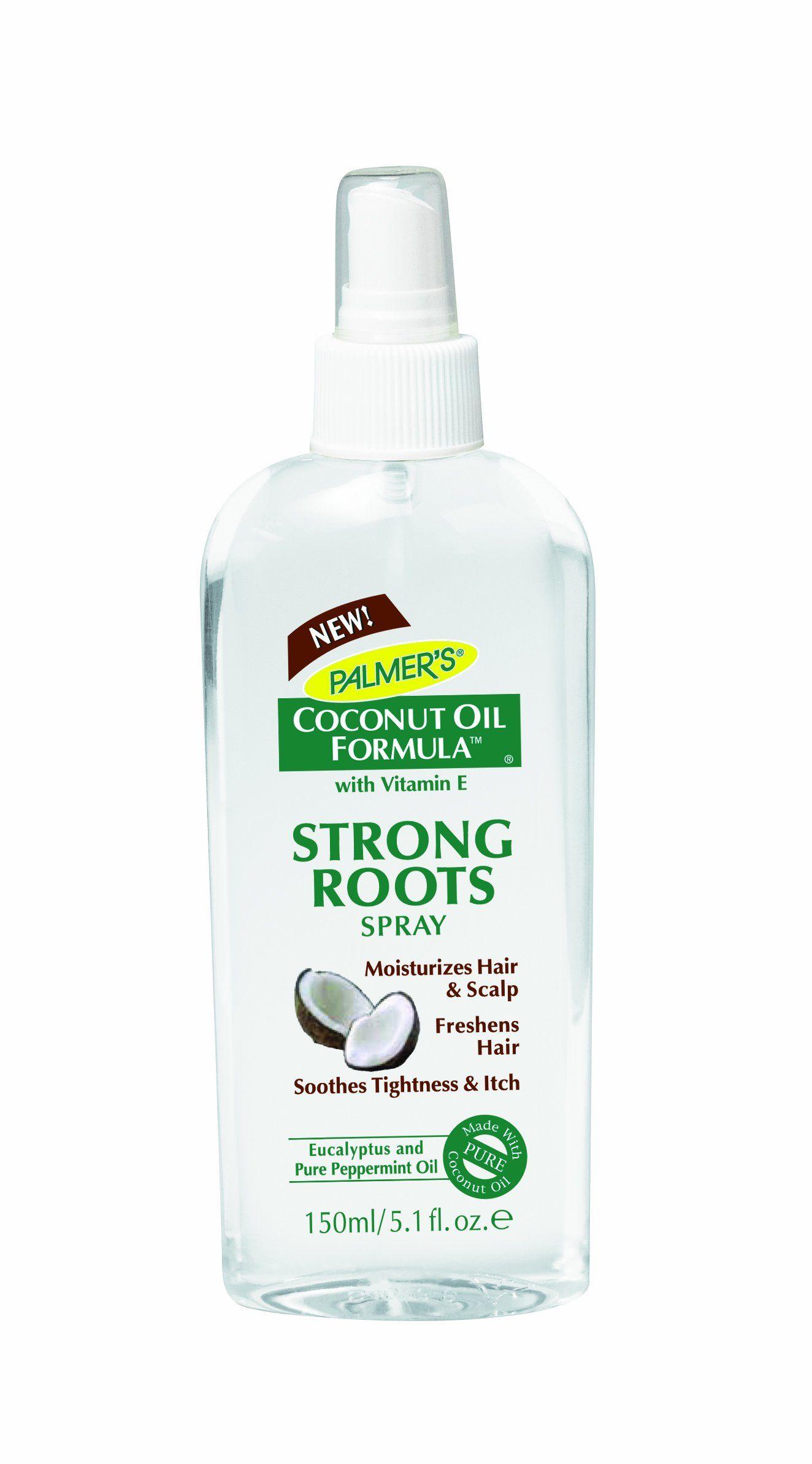 Palmer's Coconut Oil Formula Strong Roots Spray, 5.1 Fluid