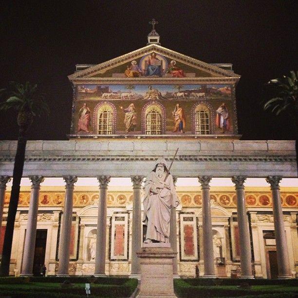 Basilica Di San Paolo Fuori Le Mura Basilica San Rome