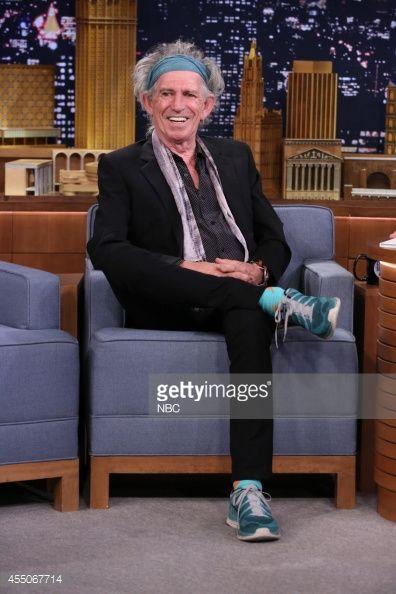 Musician Keith Richards on September 9, 2014 --