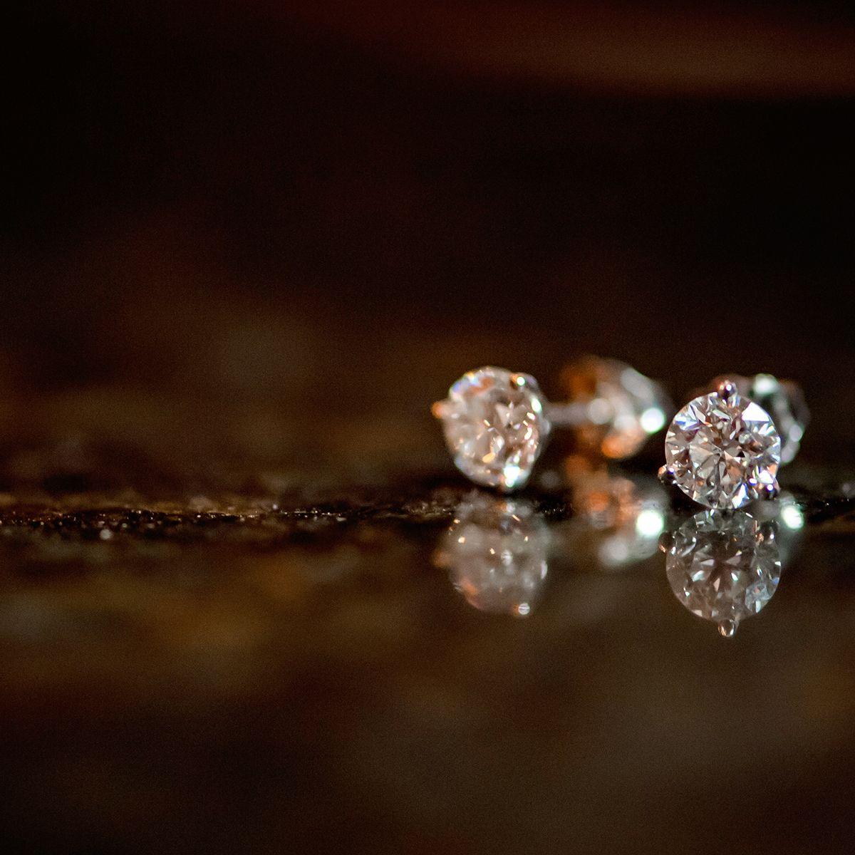 d33e5f8e4 Sparkling diamond studs belong in every jewelry lover's wardrobe. #ShaneCo