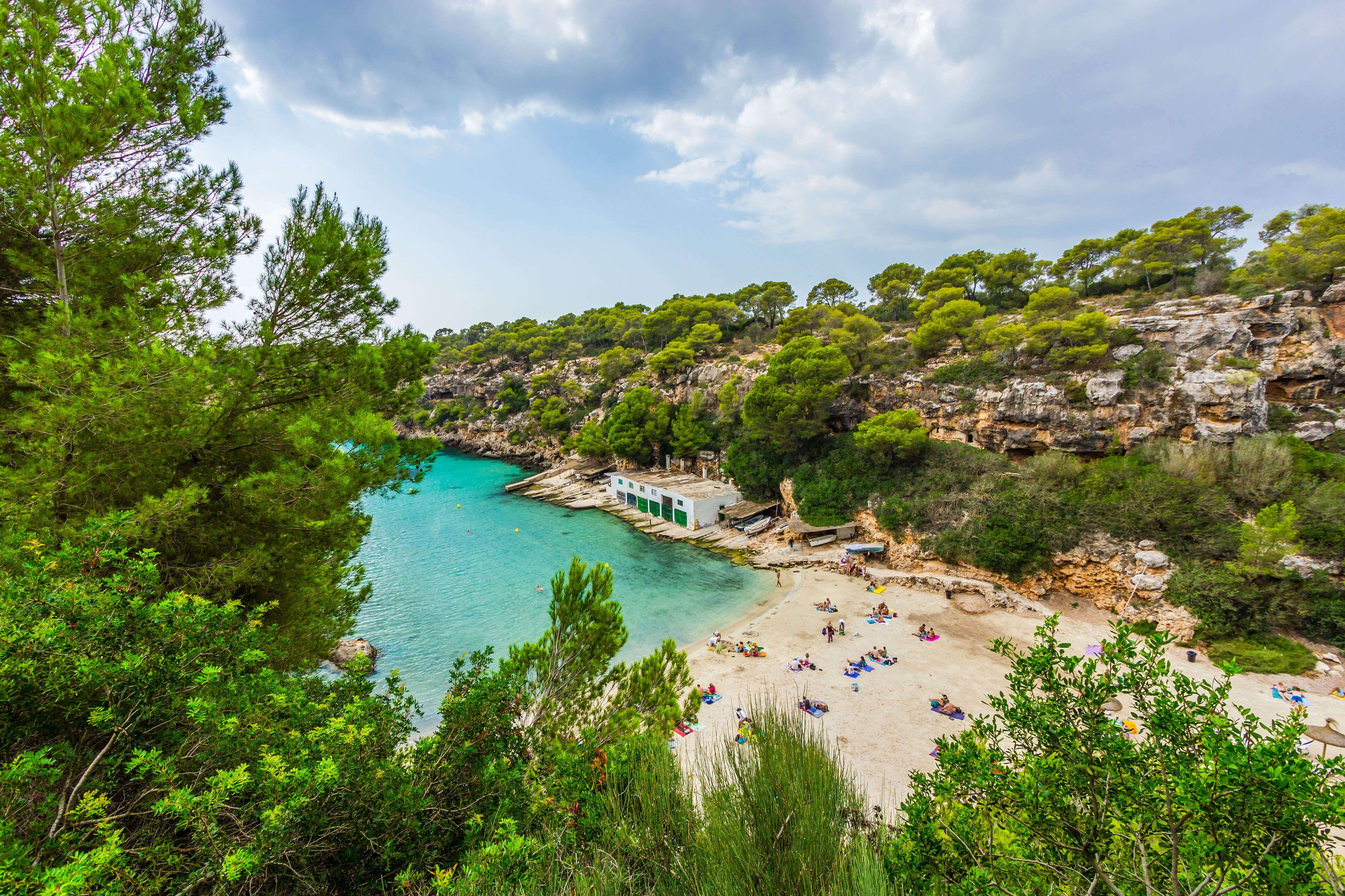Cala Pi Steilkuste Trifft Traumstrand Urlaub Strande Mallorca