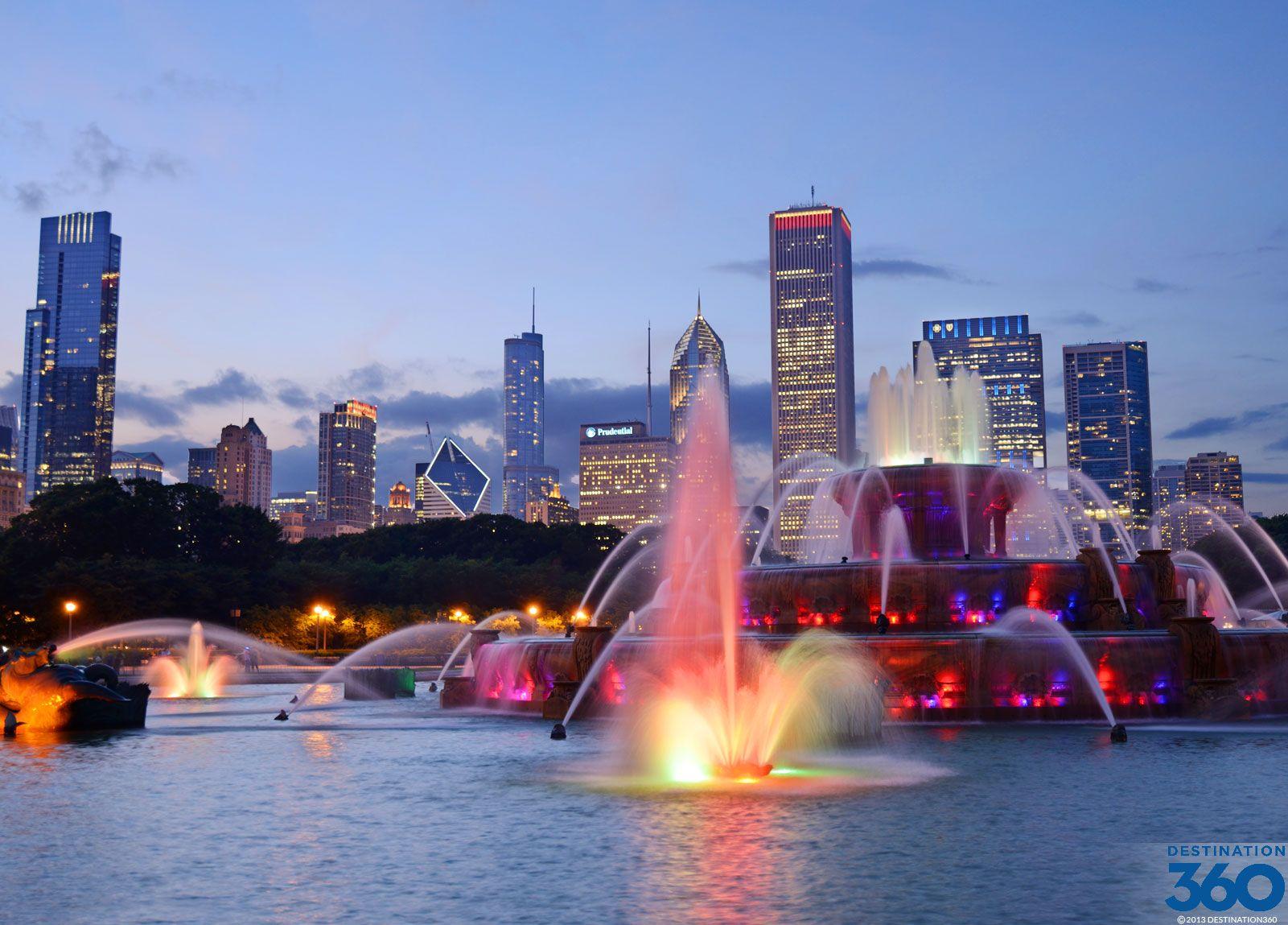 Chicago Fountain | Chicago Fountains Virtual Tour ...