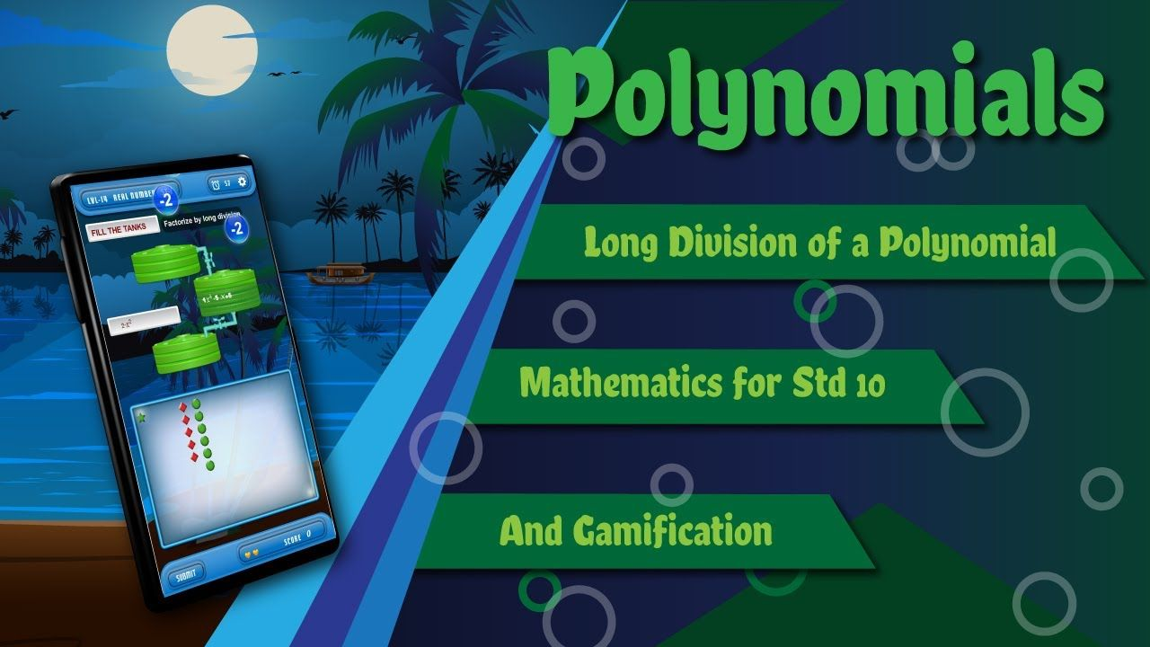 Long division of polynomial in 2020 long division