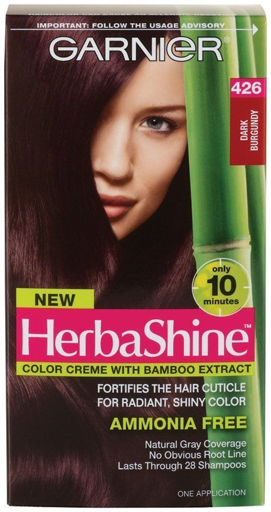 Garnier Herbashine Haircolor 426 Dark Burgundy Pack Of 2 Be
