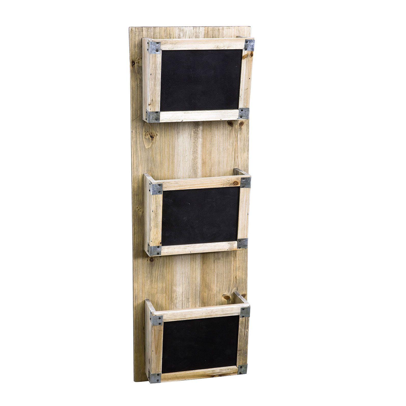 id e d velopper trieur courrier mural en bois avec m mo. Black Bedroom Furniture Sets. Home Design Ideas
